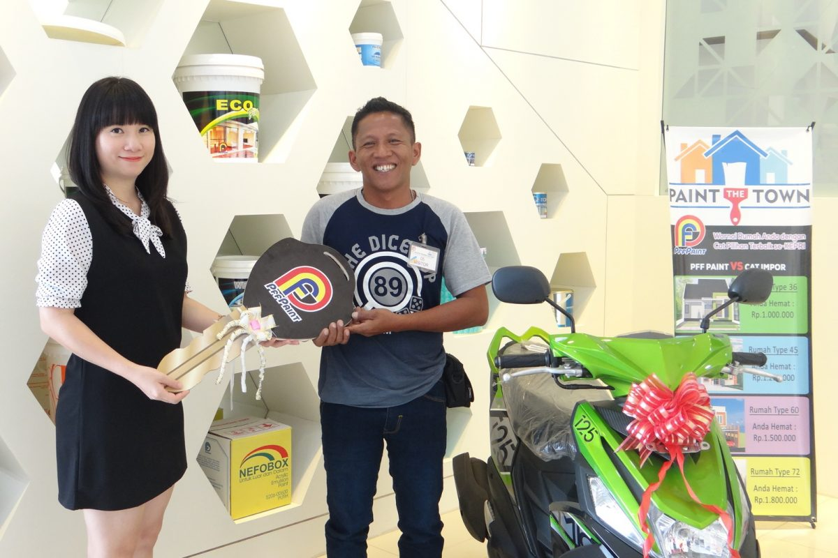 Pemenang Lucky Draw ke-13 Periode Juni 2017 – Bp. Musliadi (TBK)