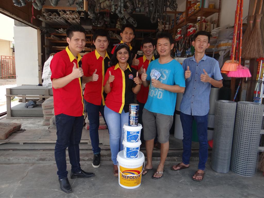 Pemenang Uang Kaget Toko – Babel Jaya (Batam)