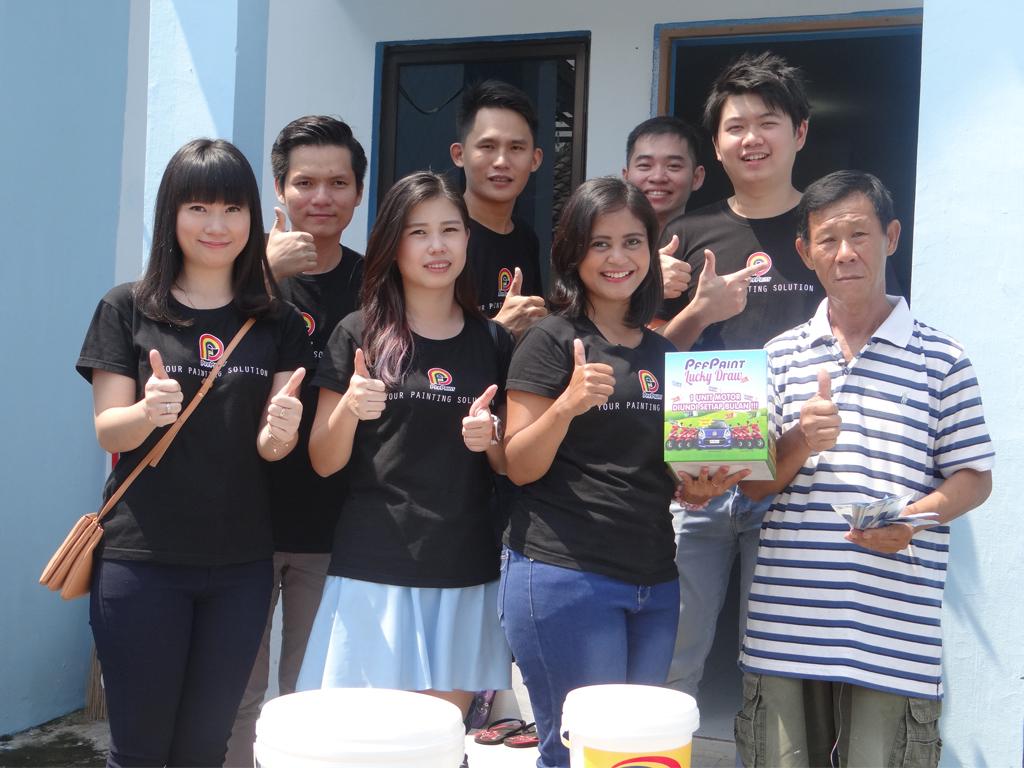 Pemenang Uang Kaget Rumah – Bp. Bambang Sutrisno (Batam)