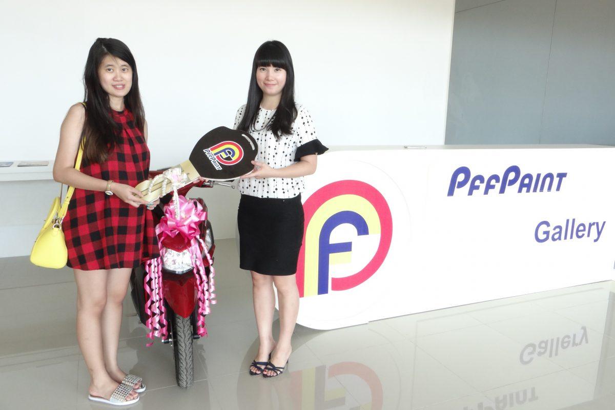Pemenang Lucky Draw ke-12 Periode Januari 2016 – Ibu Lie Akim (Batam)