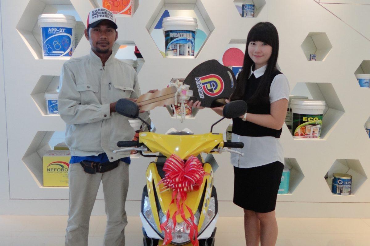 Pemenang Lucky Draw ke-12 Periode Juni 2016 – Bp. Agusujiar (TBK)