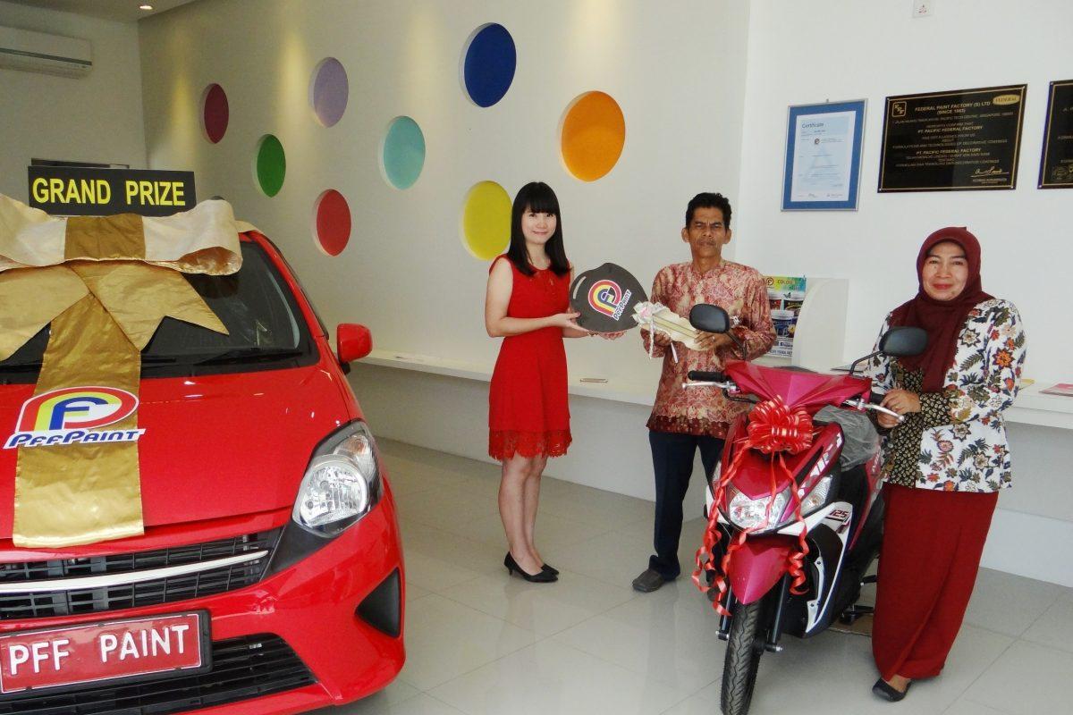 Pemenang Lucky Draw ke-12 Periode November 2016 – Bp. Yunizar (Belakang Padang)