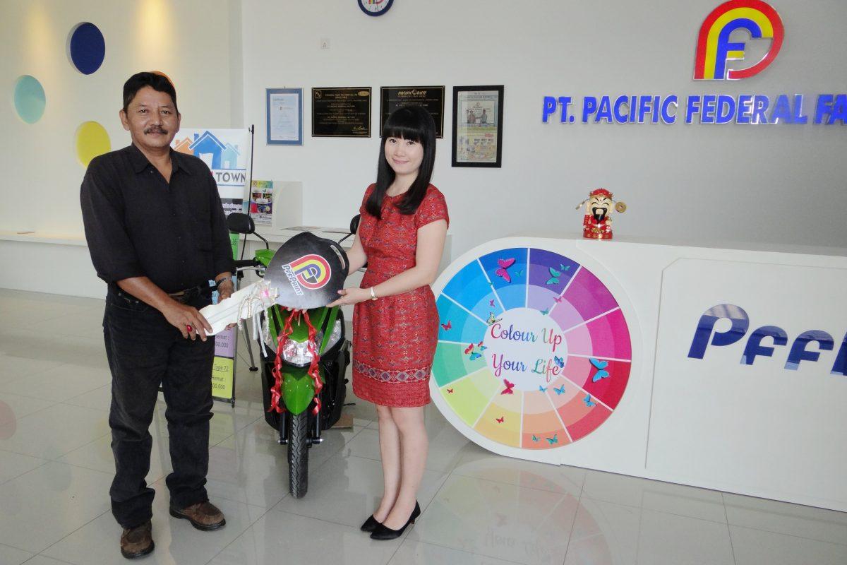 Pemenang Lucky Draw ke-13 Periode Februari 2017 – Bp. Khusma (TBK)