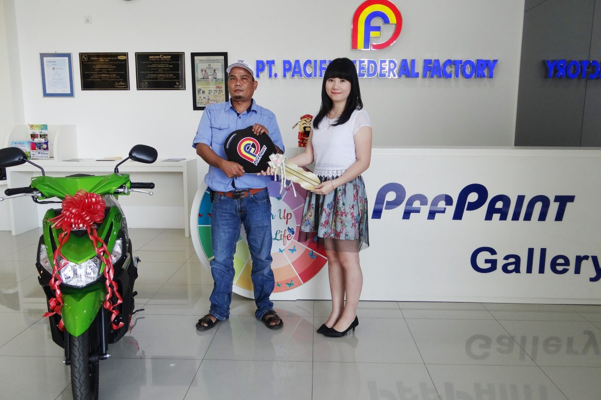 Pemenang Lucky Draw ke-13 Periode Mei 2017 – Bp. Subarjo (Tembilahan)