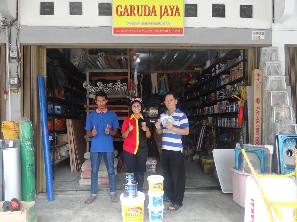 Pemenang Uang Kaget Toko – Garuda Jaya (TPI)
