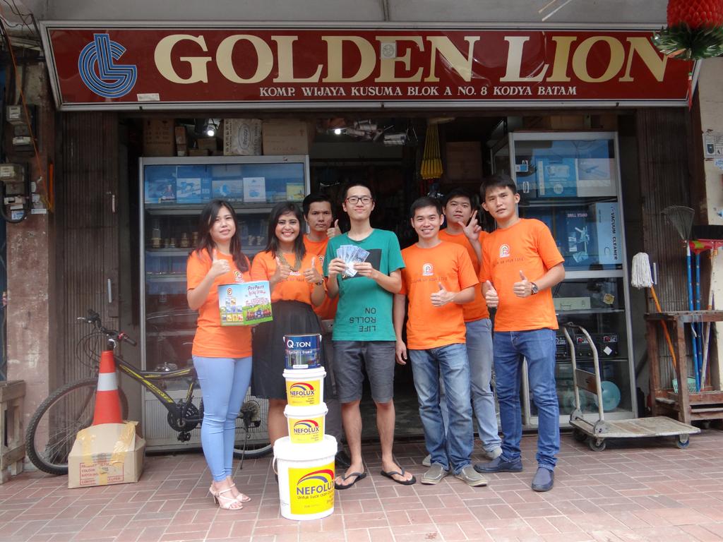 Pemenang Uang Kaget Toko – Golden Lion (Batam)