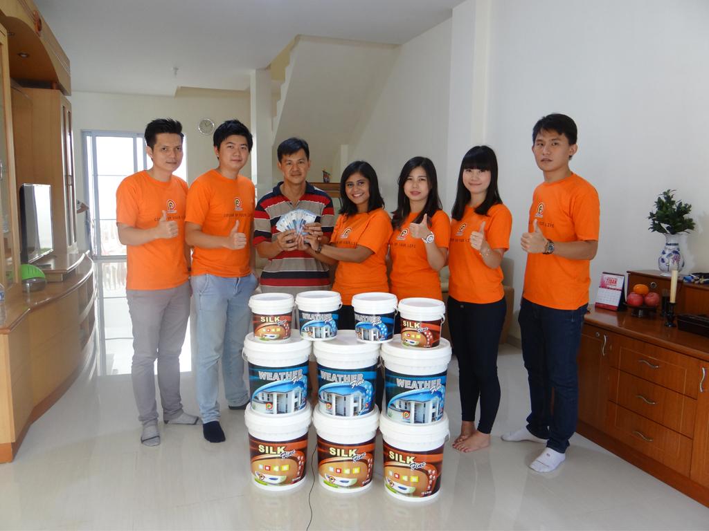 Pemenang Uang Kaget Rumah – Bp. Heri Trioputra (Batam)