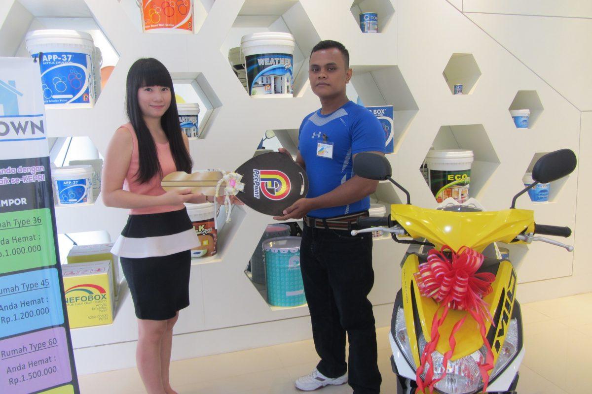 Pemenang Lucky Draw ke-12 Periode Juli 2016 – Bp. Mula Horas Sipayung (Batam)