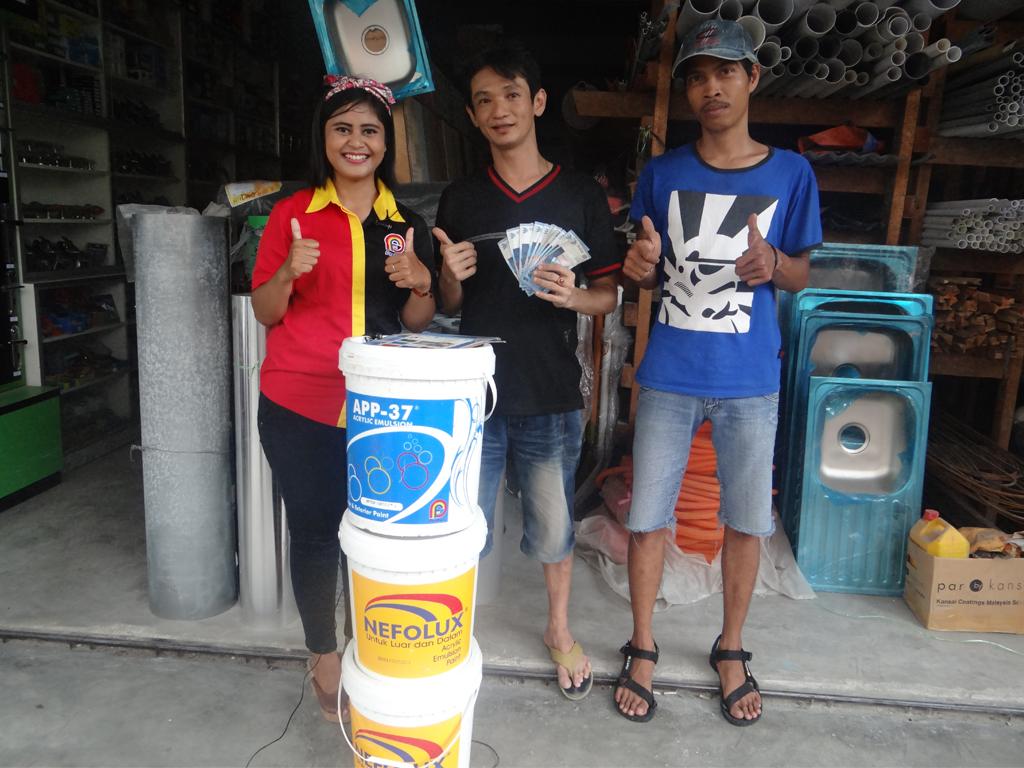 Pemenang Uang Kaget Toko – King's Jaya (TBK)