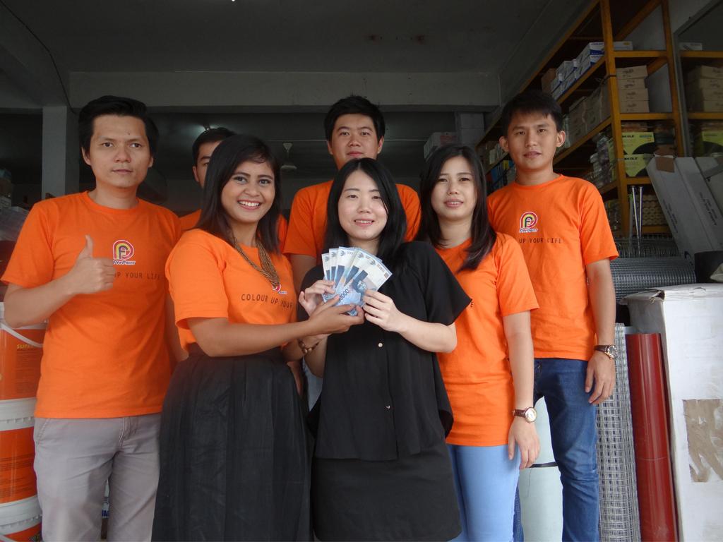 Pemenang Uang Kaget Toko – PT. Sinar Bangunan Batam (Batam)