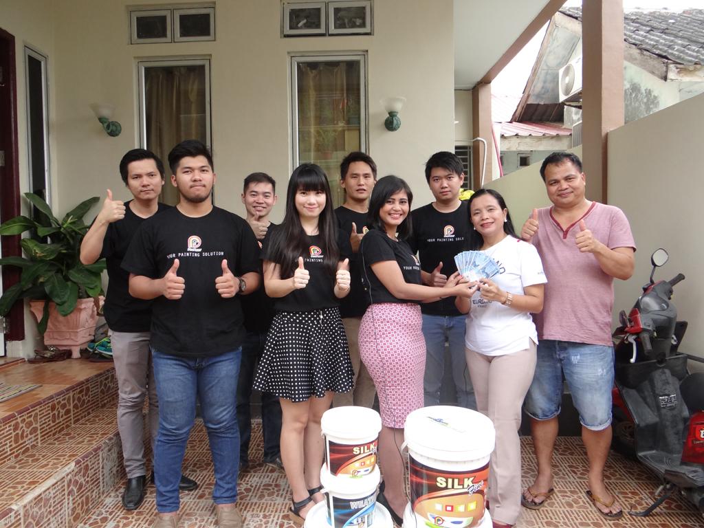 Pemenang Uang Kaget Rumah – Ibu Ernita Tambunan (Batam)