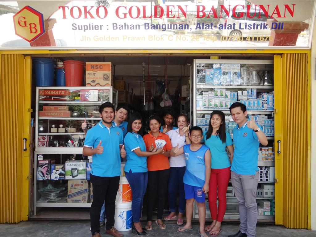 Pemenang Uang Kaget Toko – Golden Bangunan (Batam)