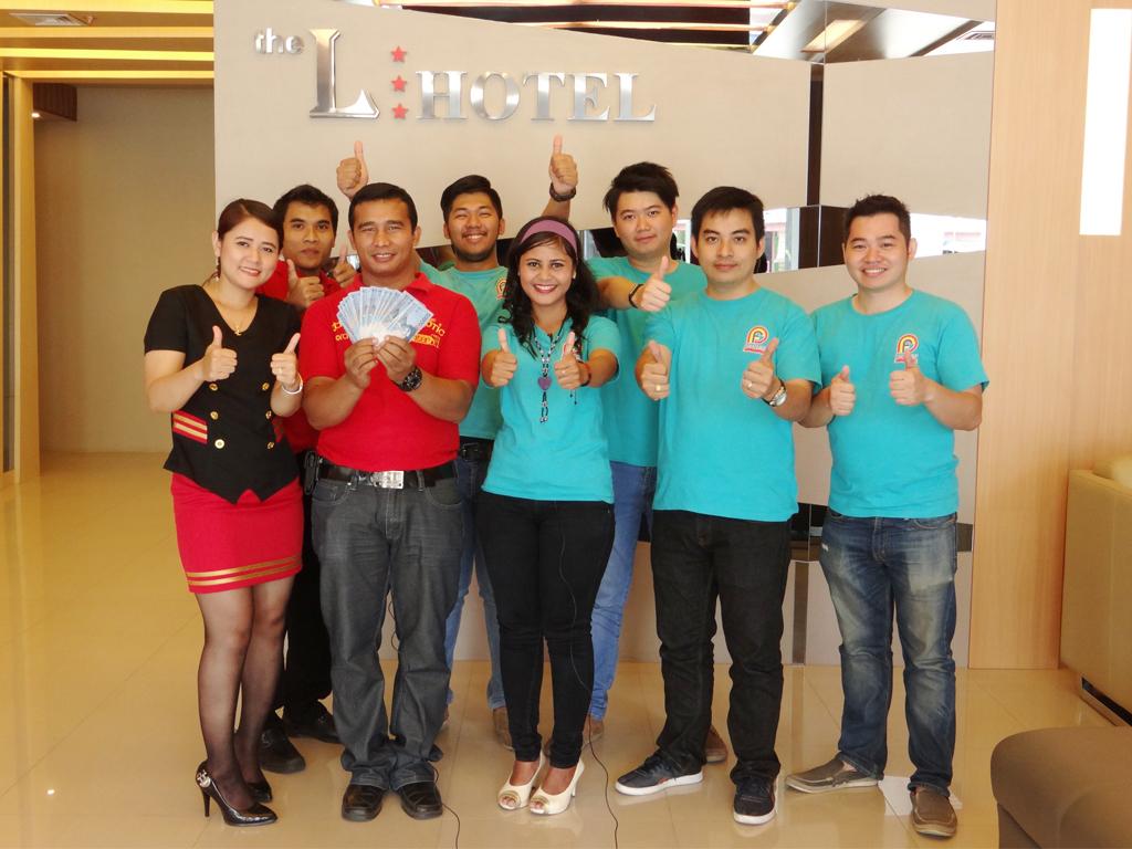 Pemenang Uang Kaget Hotel – L-Hotel (Batam)
