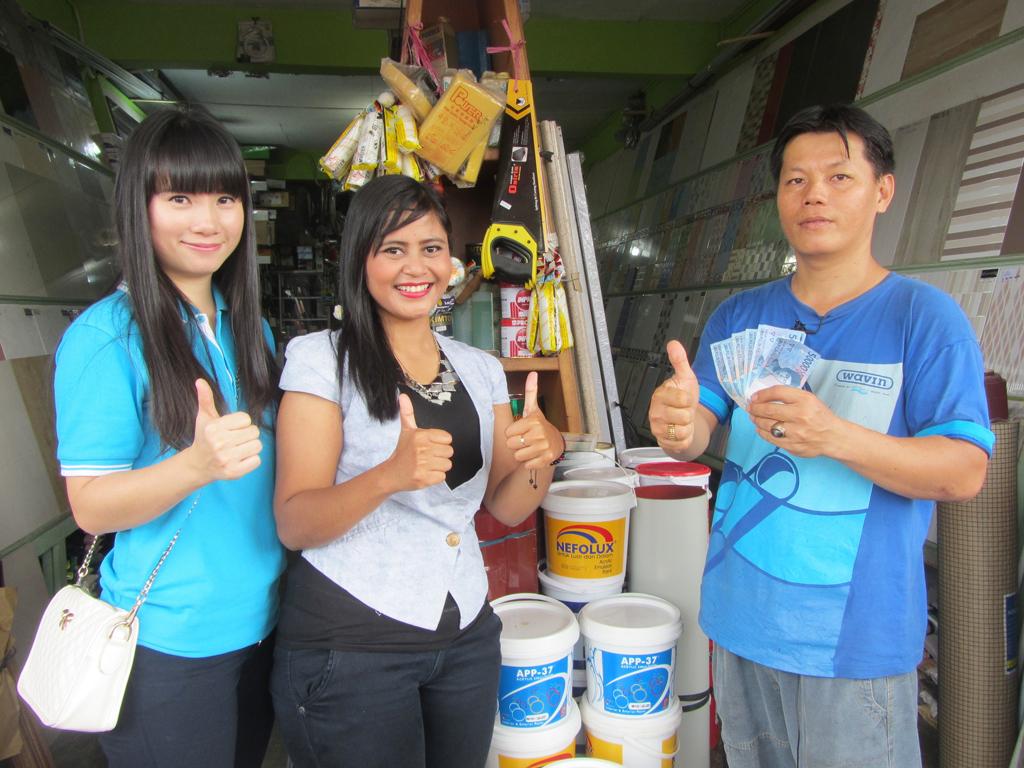 Pemenang Uang Kaget Toko – Riau Keramik (TPI)