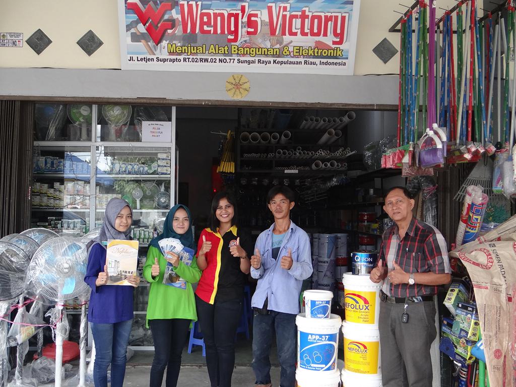 Pemenang Uang Kaget Toko – Weng's Victory (TBK)