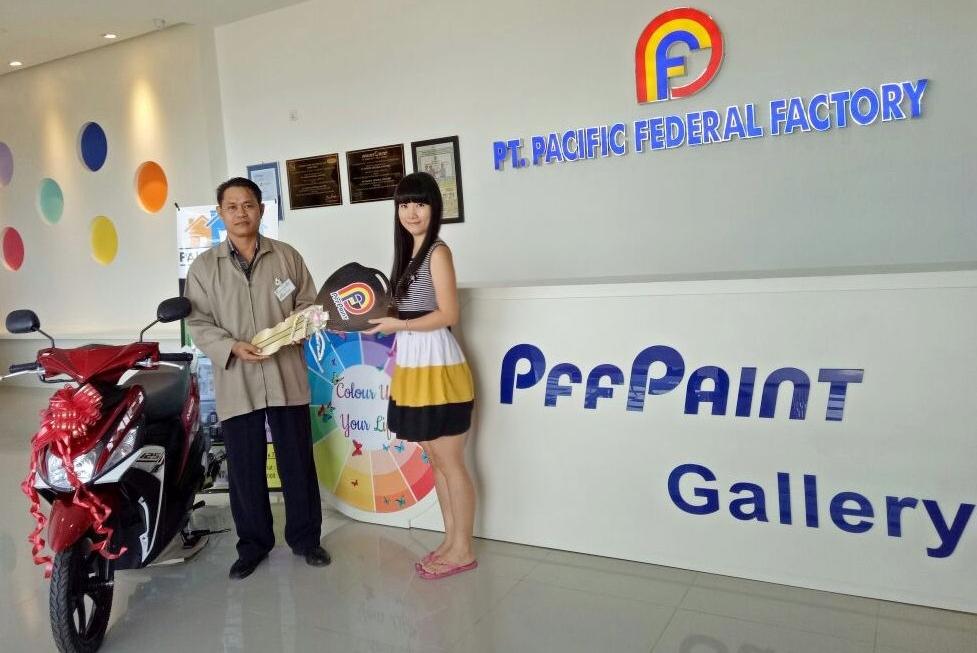 Pemenang Lucky Draw ke-12 Periode Agustus 2016 – Bp. Hirman Efendi (TPI)