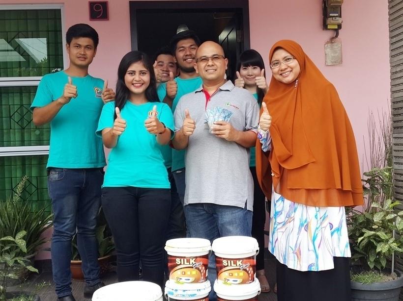 Pemenang Uang Kaget Rumah – Bp. Arief Iskandar (Batam)