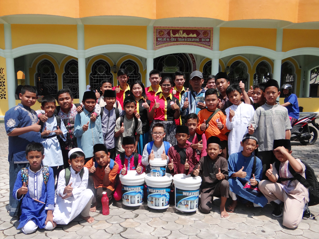 Pemenang Uang Kaget Masjid – Masjid Al-Isra 3 (Batam)