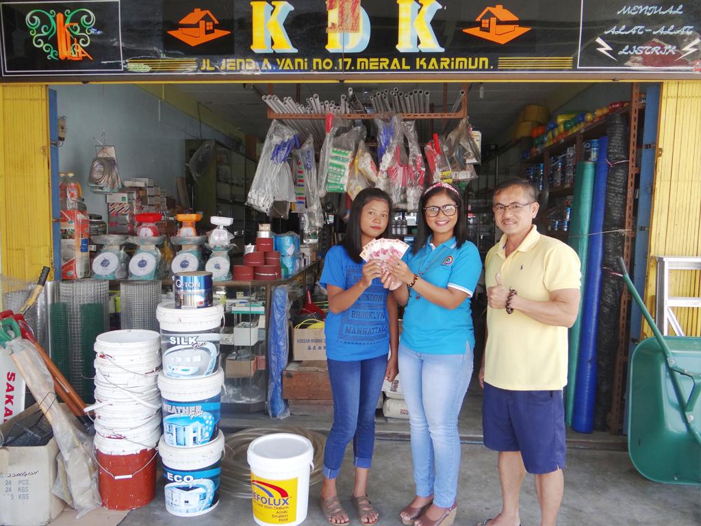 Pemenang Uang Kaget Toko – Toko KDK (TBK)