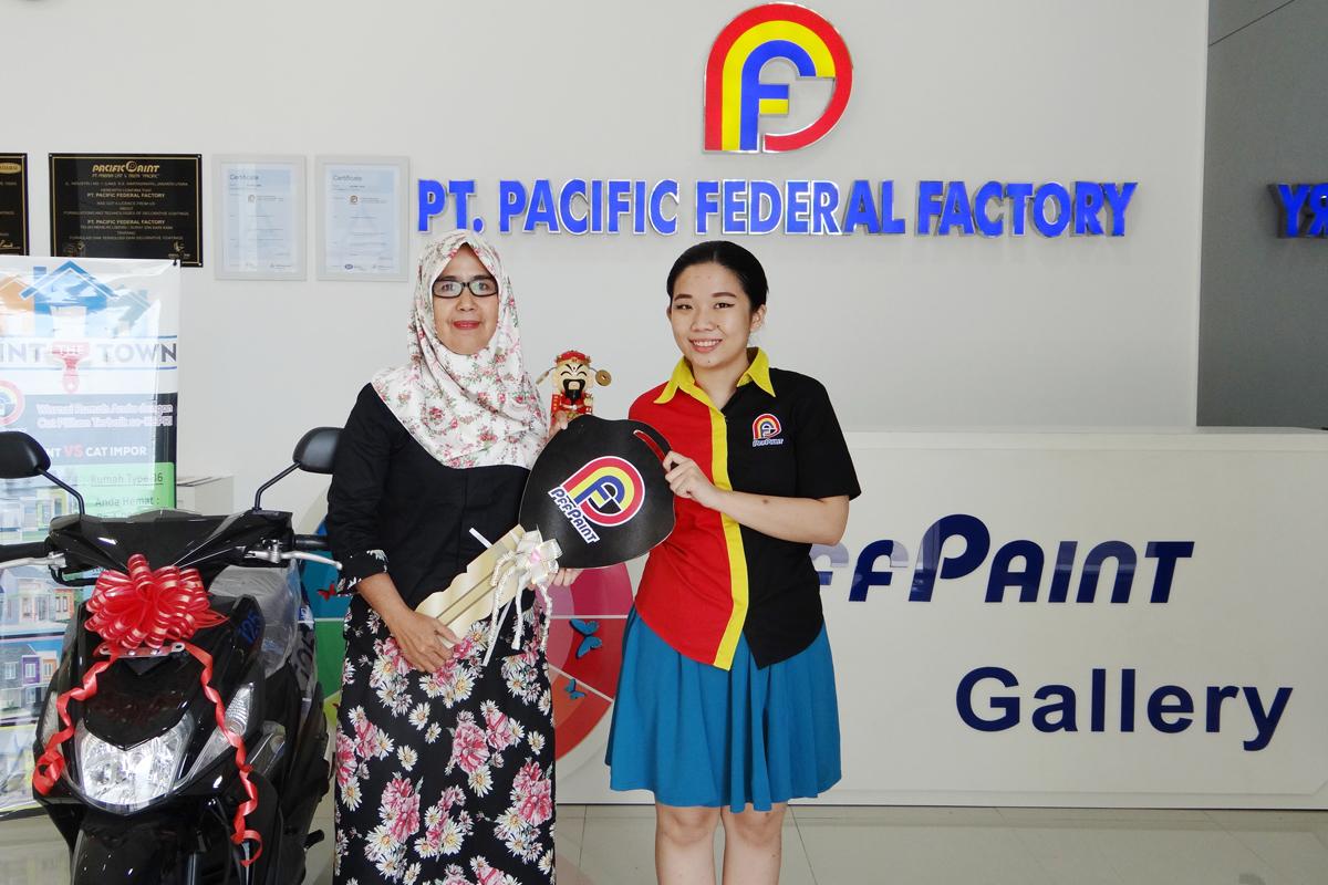 Pemenang Lucky Draw ke – 13 Periode September 2017 – Ibu Nura'ini (Tarempa)