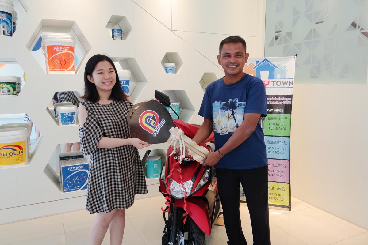Pemenang Lucky Draw ke – 13 Periode Oktober 2017 – Bp. Andri Wiryawan (Batam)