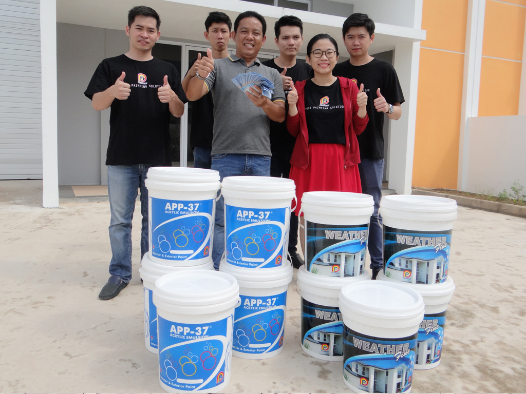 Pemenang Uang Kaget Proyek – Bp. Firdaus Kws. Industri Tunas 2 (Batam)