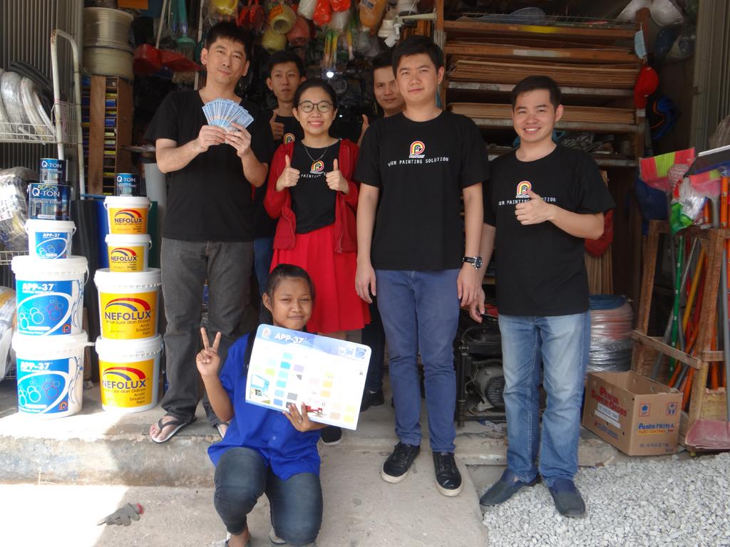 Pemenang Uang Kaget Toko – Asia Bangunan (Batam)