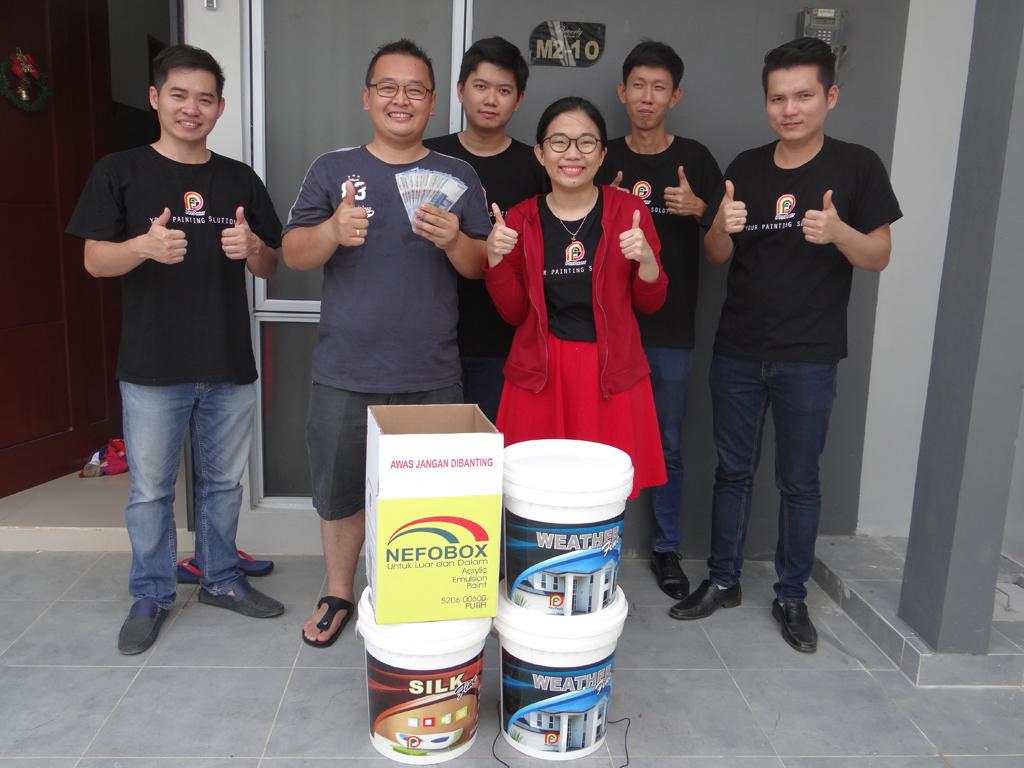 Pemenang Uang Kaget Rumah – Bp. Tedi (Batam)