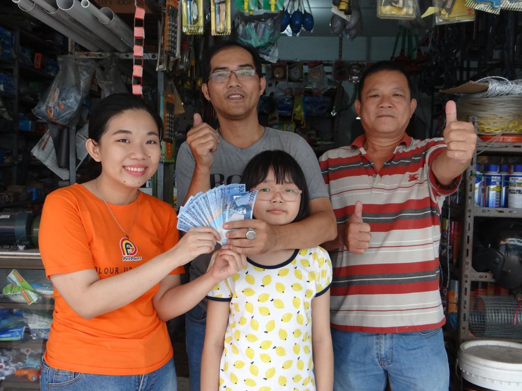 Pemenang Uang Kaget Toko – Jaya Raya (TBK)