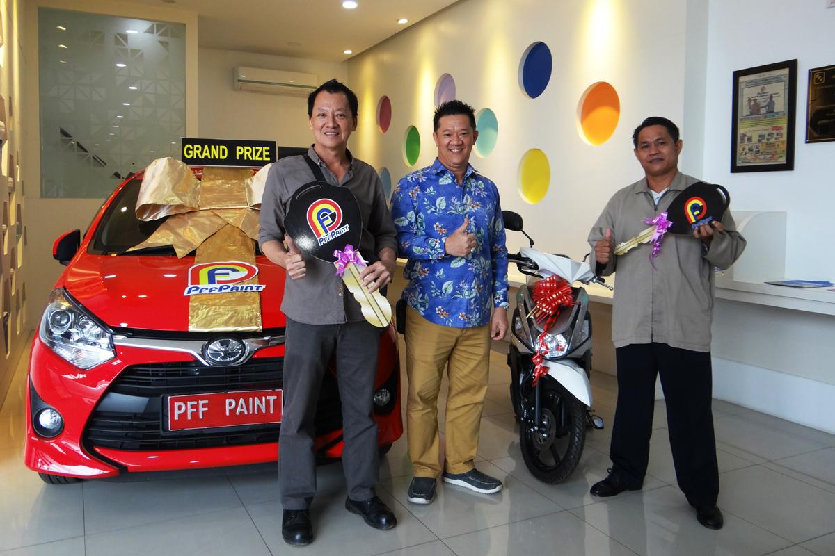 Pemenang Lucky Draw Ke – 13 Periode Desember 2017 – Motor : Bp. Hirman Effendi (TPI), Mobil : Bp. Nasya Al Hang Boen (TPI)