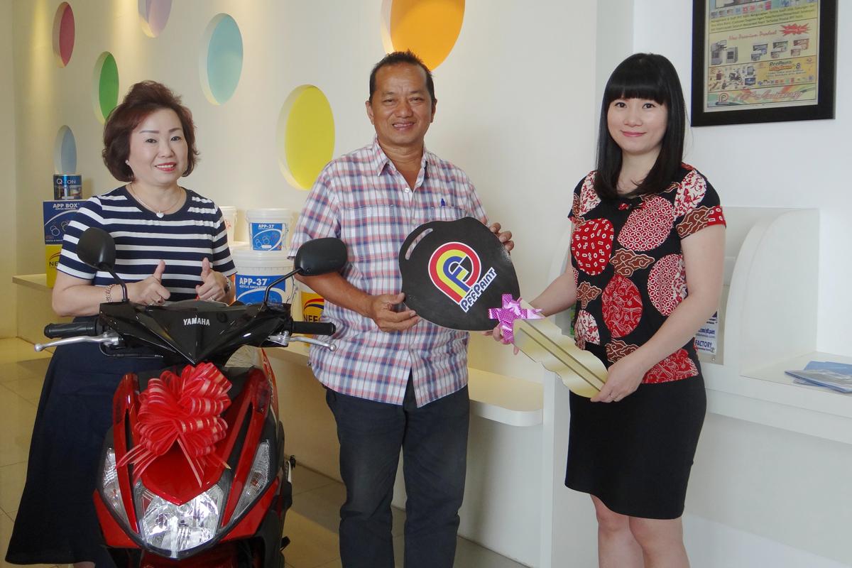 Pemenang Lucky Draw Ke-14 Periode Januari 2018 – Bp. Pue Ming (Batam)