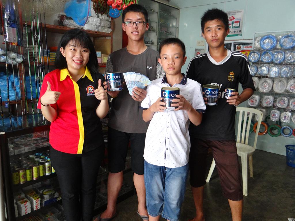 Pemenang Uang Kaget Toko – Toko Laut Utama (TBK)