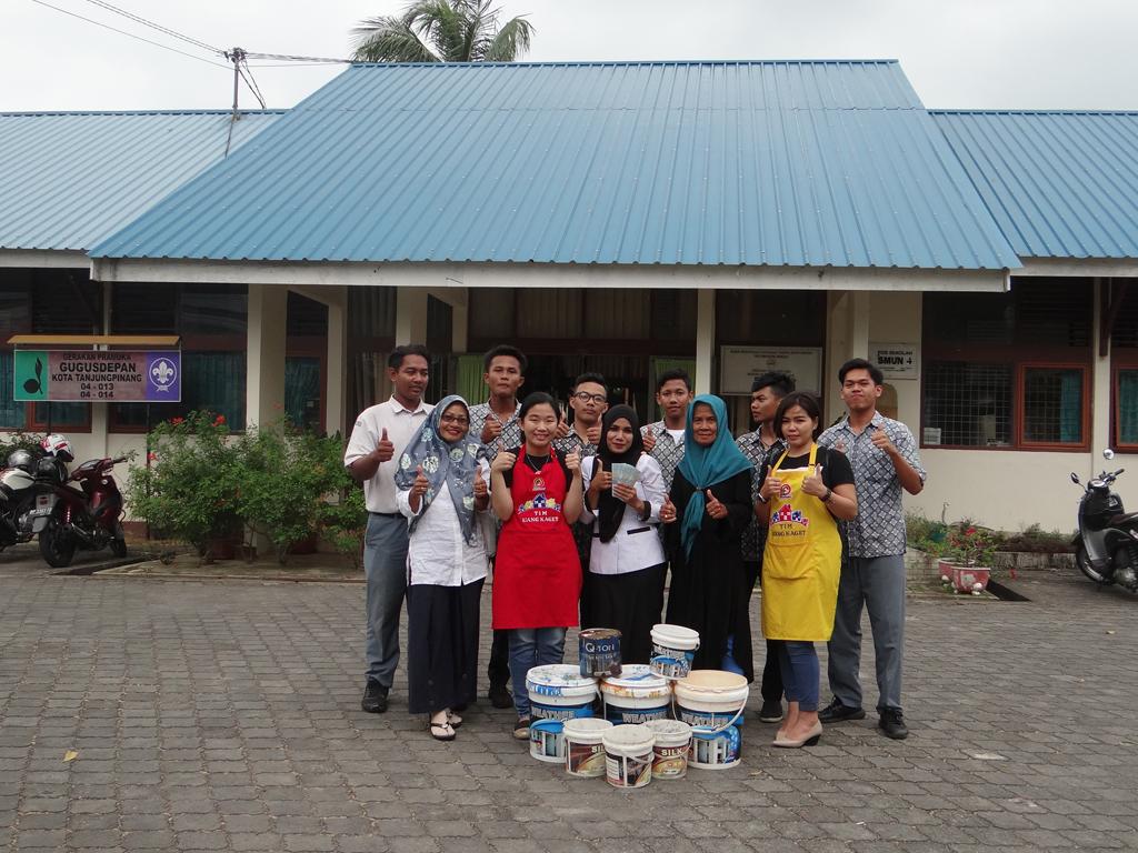 Pemenang Uang Kaget Sekolah – SMAN 4 Tj. Pinang