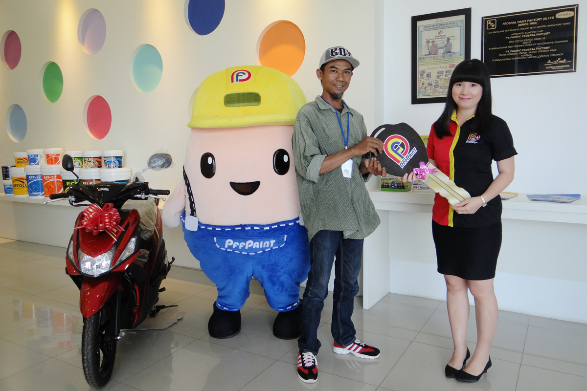 Pemenang Lucky Draw Ke-14 Periode April 2018 – Bp. Hartono (Batam)