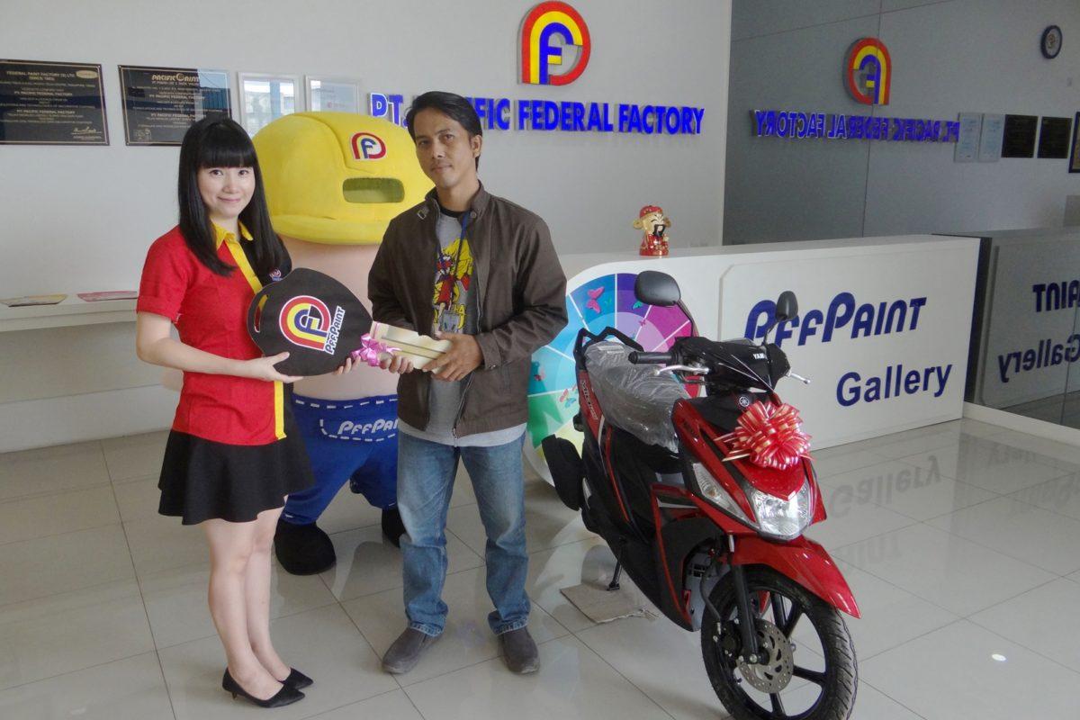 Pemenang Lucky Draw Ke – 14 Periode Mei 2018 – Bp. Denny. S (TPI)
