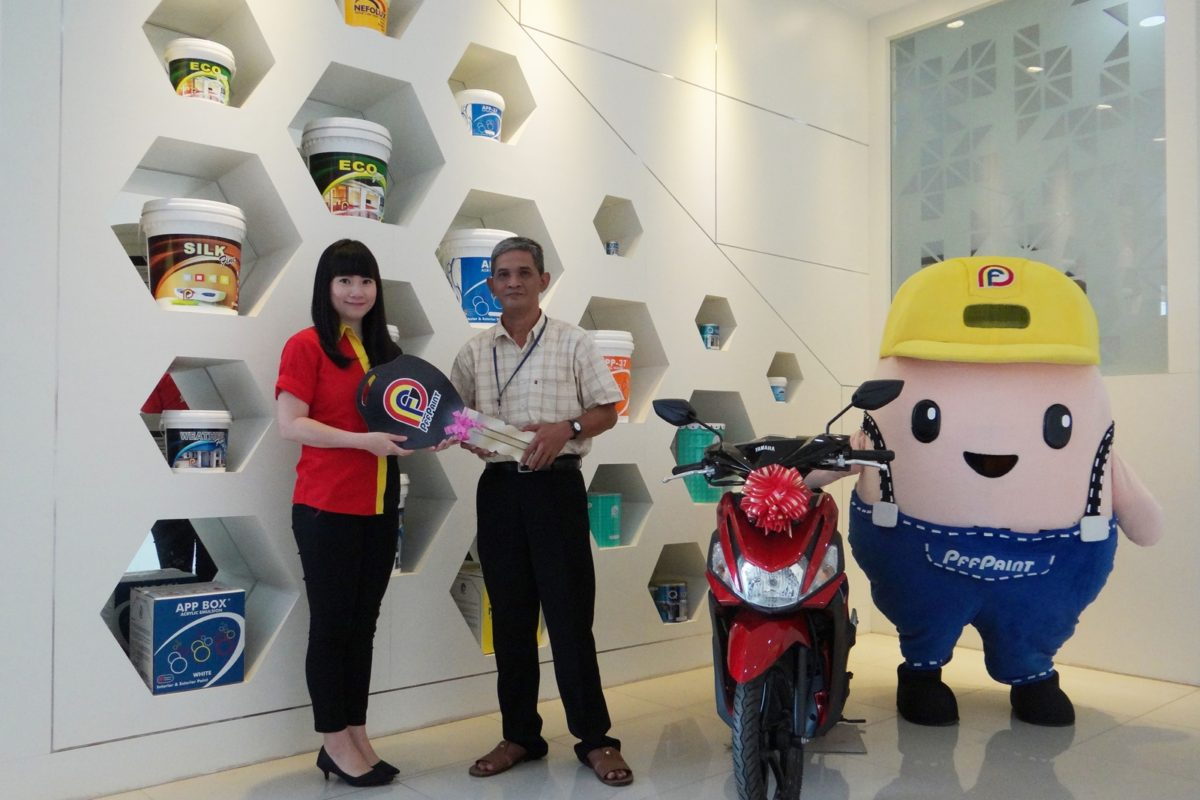 Pemenang Lucky Draw Ke – 14 Periode Juni 2018 – Bp. KHAIRUL AKBAR (TPI)