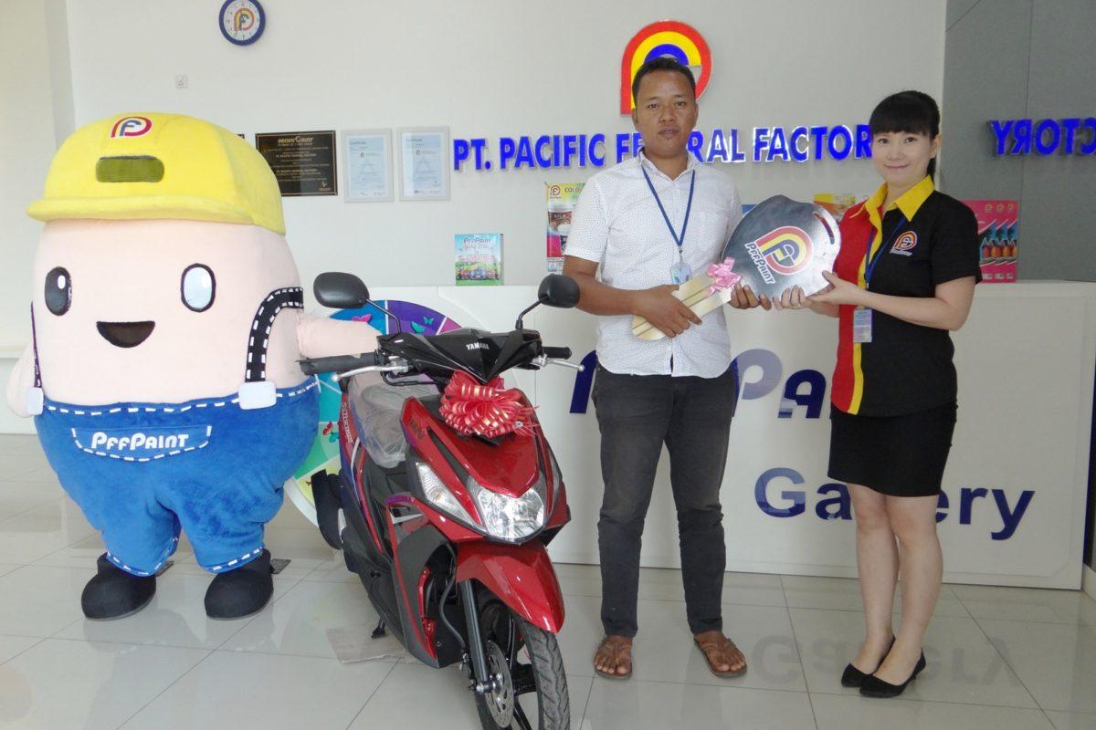 Pemenang Lucky Draw Ke – 14 Periode Agustus 2018 – Bp Ismail (TBK)