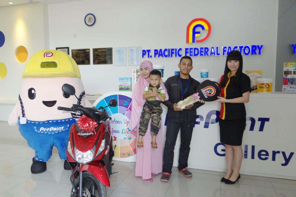 Pemenang Lucky Draw Ke – 14 Periode Oktober 2018 – Bp. Abdur Rahman (Batam)