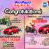 Pemenang Lucky Draw Ke – 14 Periode Desember – Motor : Ibu Linda(Batam), Mobil : Ibu Mardiani (Batam)