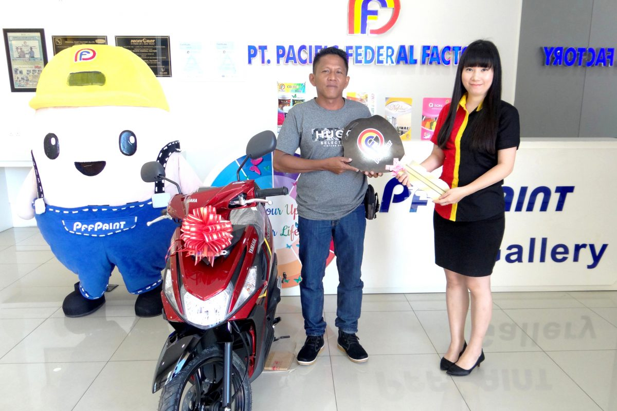 PEMENANG LUCKY DRAW KE – 15 PERIODE APRIL 2019 – BP. MUSLIADI (TBK)