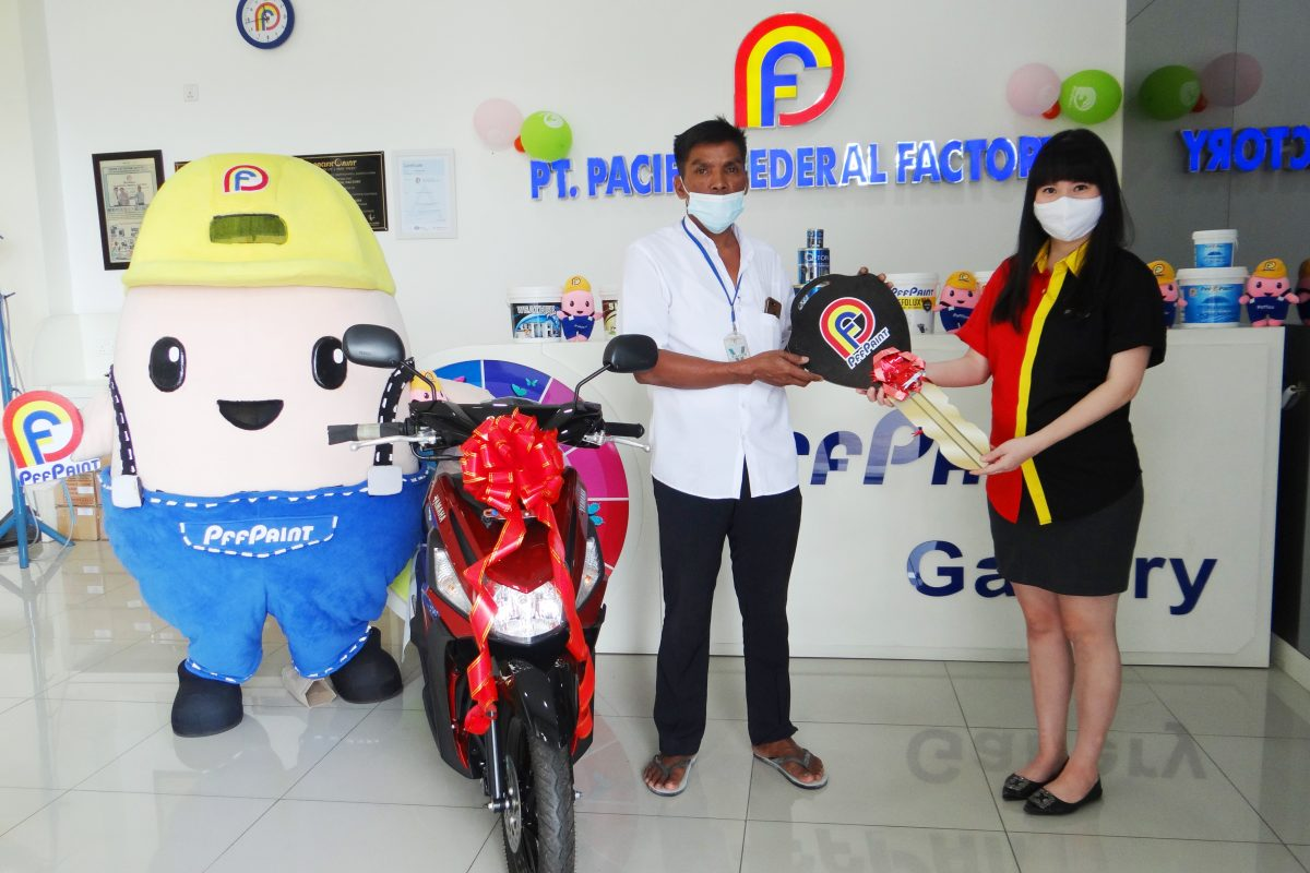 PEMENANG LUCKY DRAW KE – 16 PERIODE APRIL 2020 – BP. ERI SATRIA ( BATAM )